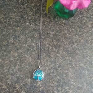 Beautiful Tree of life Reiki Necklace